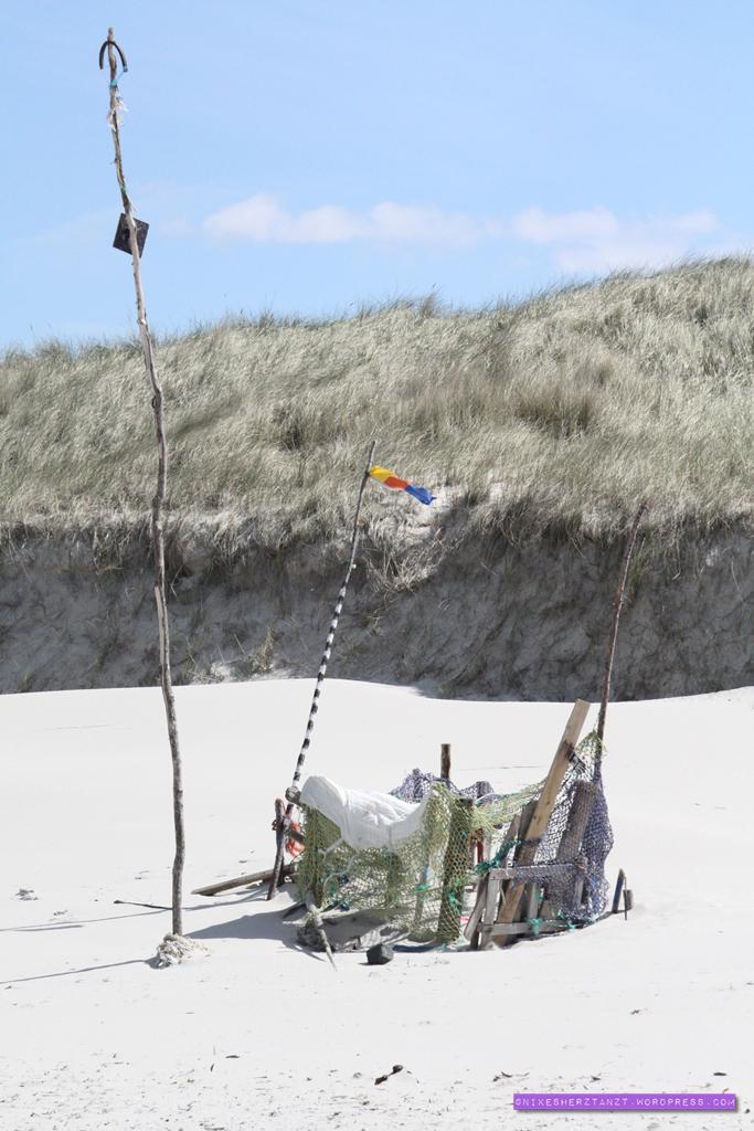 amrum, nordsee, insel, meer, schleswig-holstein, nikesherztanzt, standhütte, sonne, himmelblau, strand, norddorf