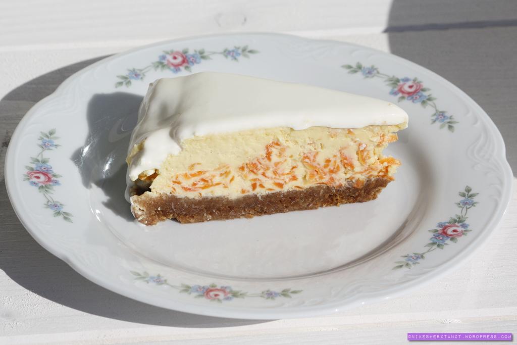ostern, möhren, käsekuchen, cheesecake, food, blog, kuchen, sonntagssüß, nikesherztanzt
