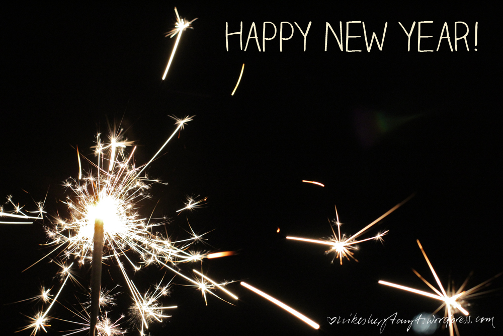 happy new year 01 // https://nikesherztanzt.de