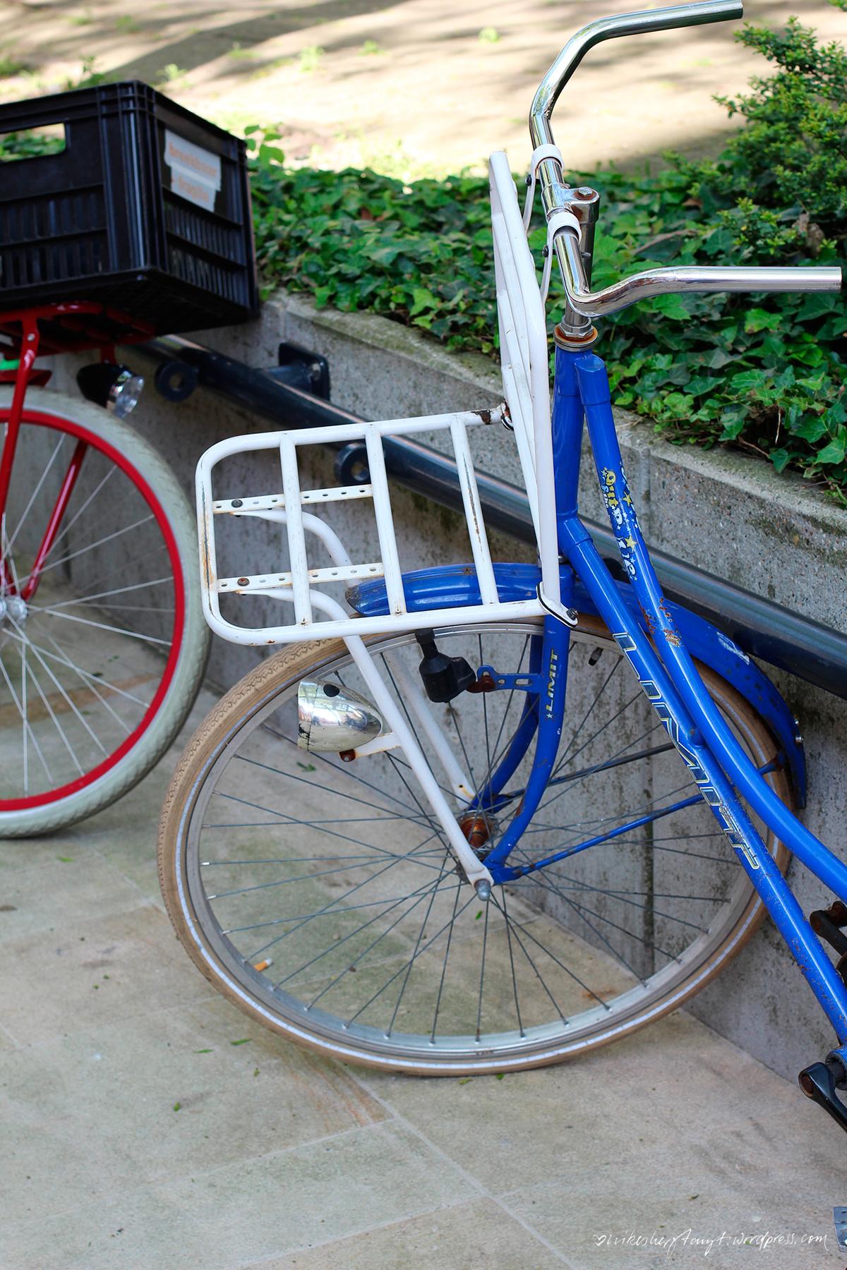holland, enschede, niederlande, fahrräder, fietsen