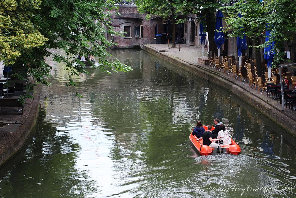 oudegracht in utrecht, niederlande, holland, nikes herz tanzt, städtetrip, #nikeunterwegs