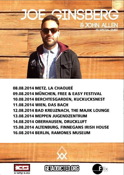 joe ginsberg & john allen auf tour 2014