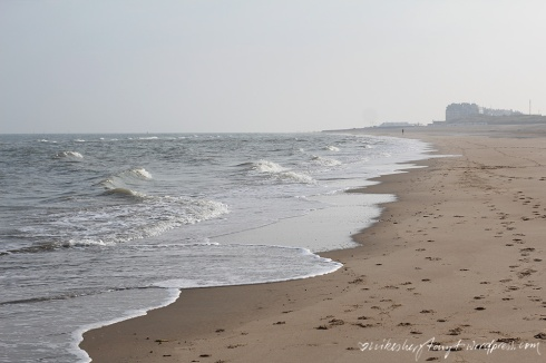 nike am meer, am strand von de haan, nordsee, belgien, geburtstag