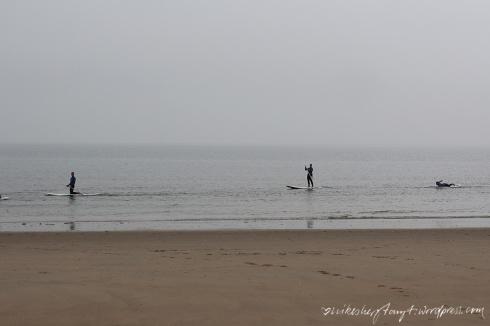 stand up paddler, zeeland, holland, brouwersdam,niederlande, nordsee, meer, roadtrip