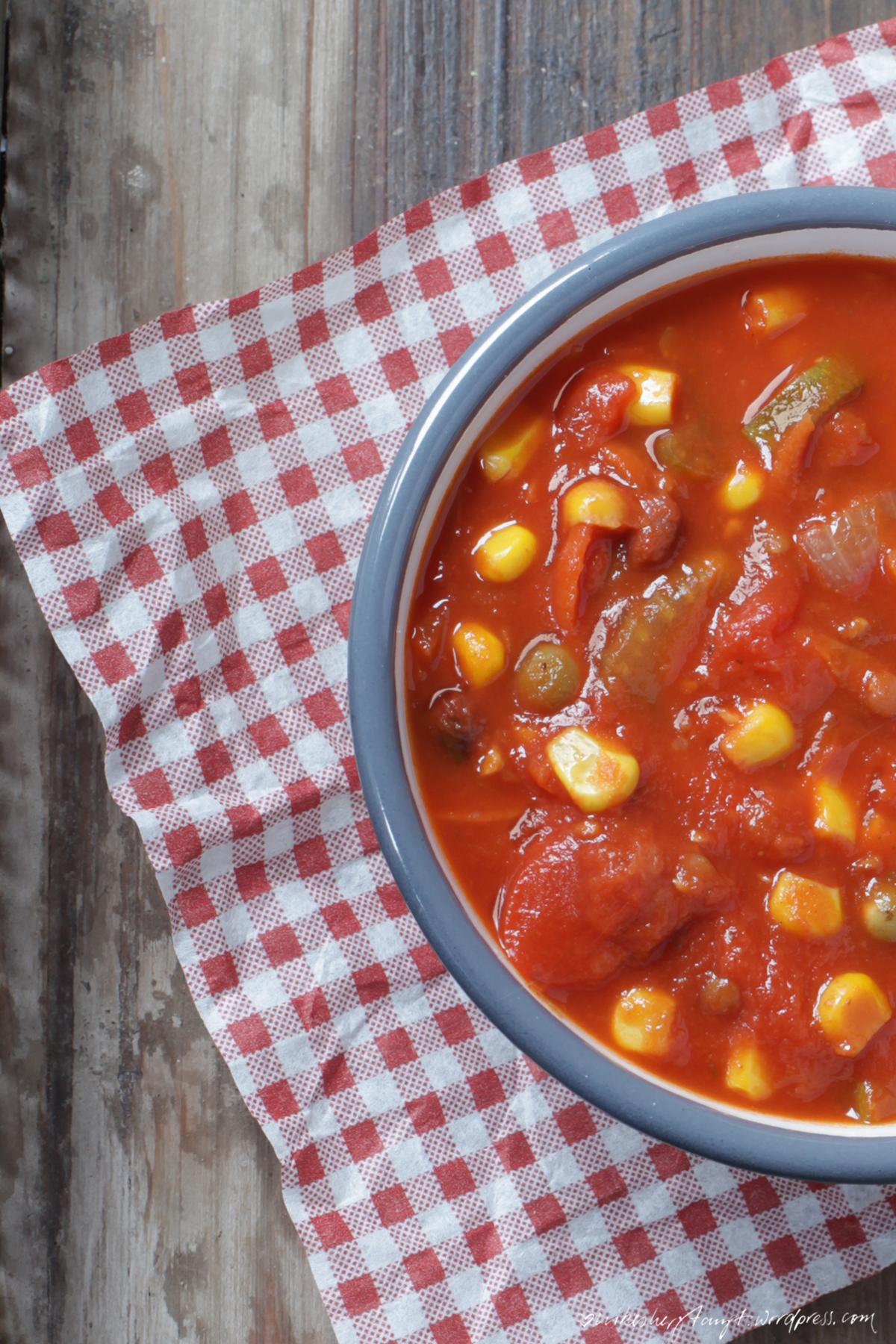 chili, chili sin carne, vegan, soulfood, suppenkasper, suppenzeit, pimenton de la vera, parika, nikesherztanzt