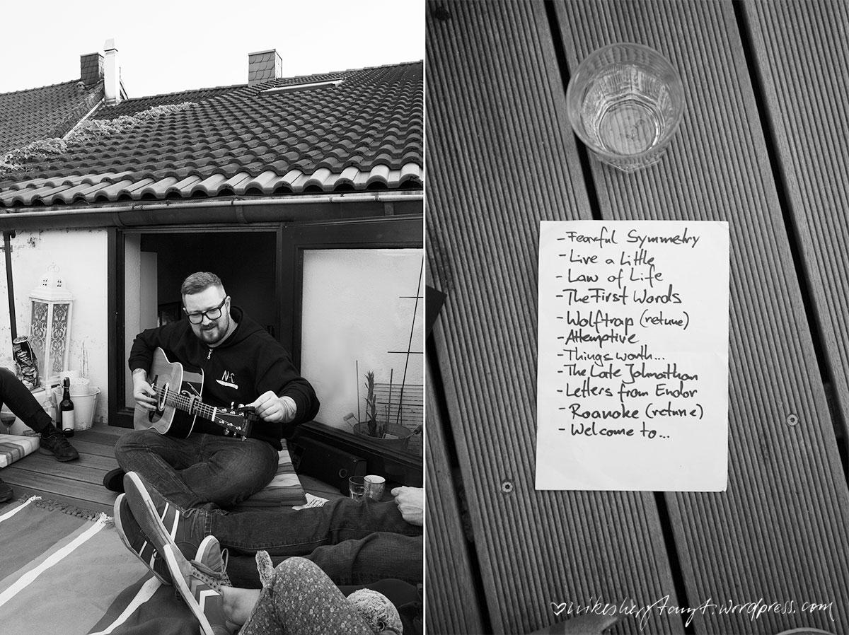 über den dächern, houseshow, konzert, musik ist ein grundnahrungsmittel, ghost of a chance, krist krueger, dachterrasse, gitarren, good time, nikesherztanzt