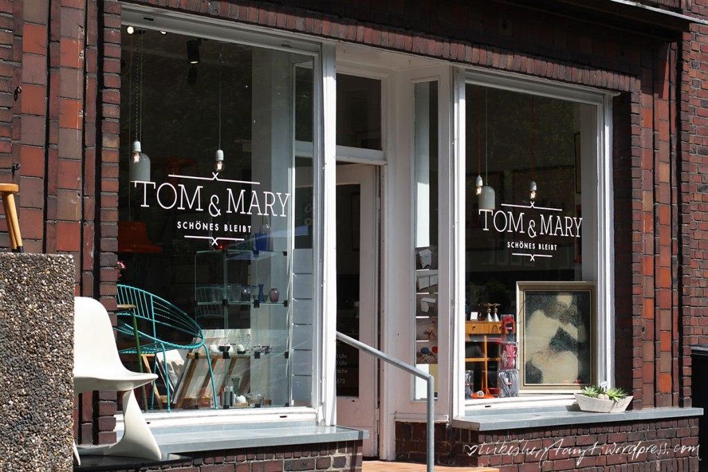 tom & mary, vintage, store, krefeld, nikesherztanzt