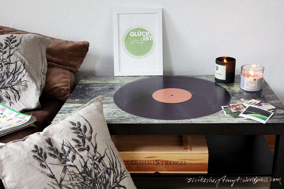 Vinyl Auf Meinem Couchtisch