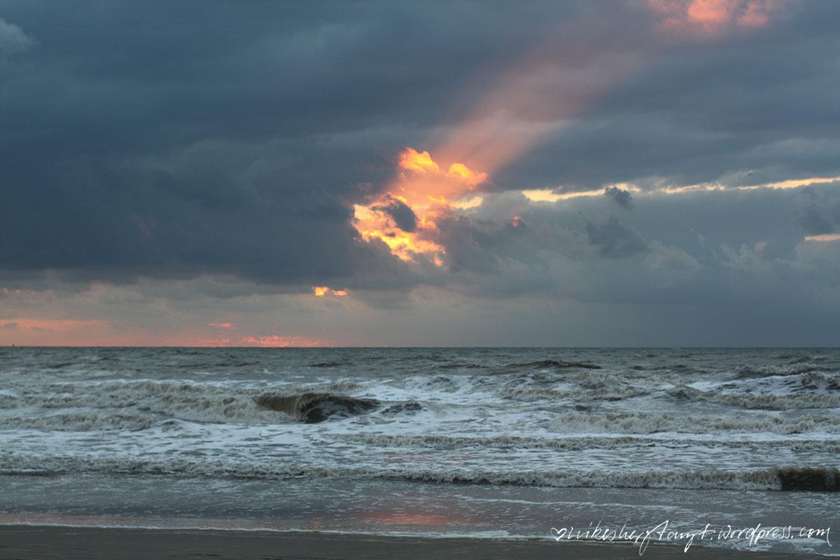 noordwijk, nordsee, nordzee, meer, strand, beach, holland, niederlande, netherlands, wind, sturm, sonnenuntergang, nikesherztanzt