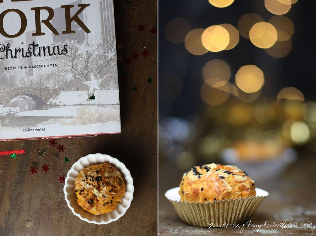 cornbread muffins, new york christmas, hölker verlag, kochbuchliebe, christmas, weihnachten, polenta, sesam, nikesherztanzt