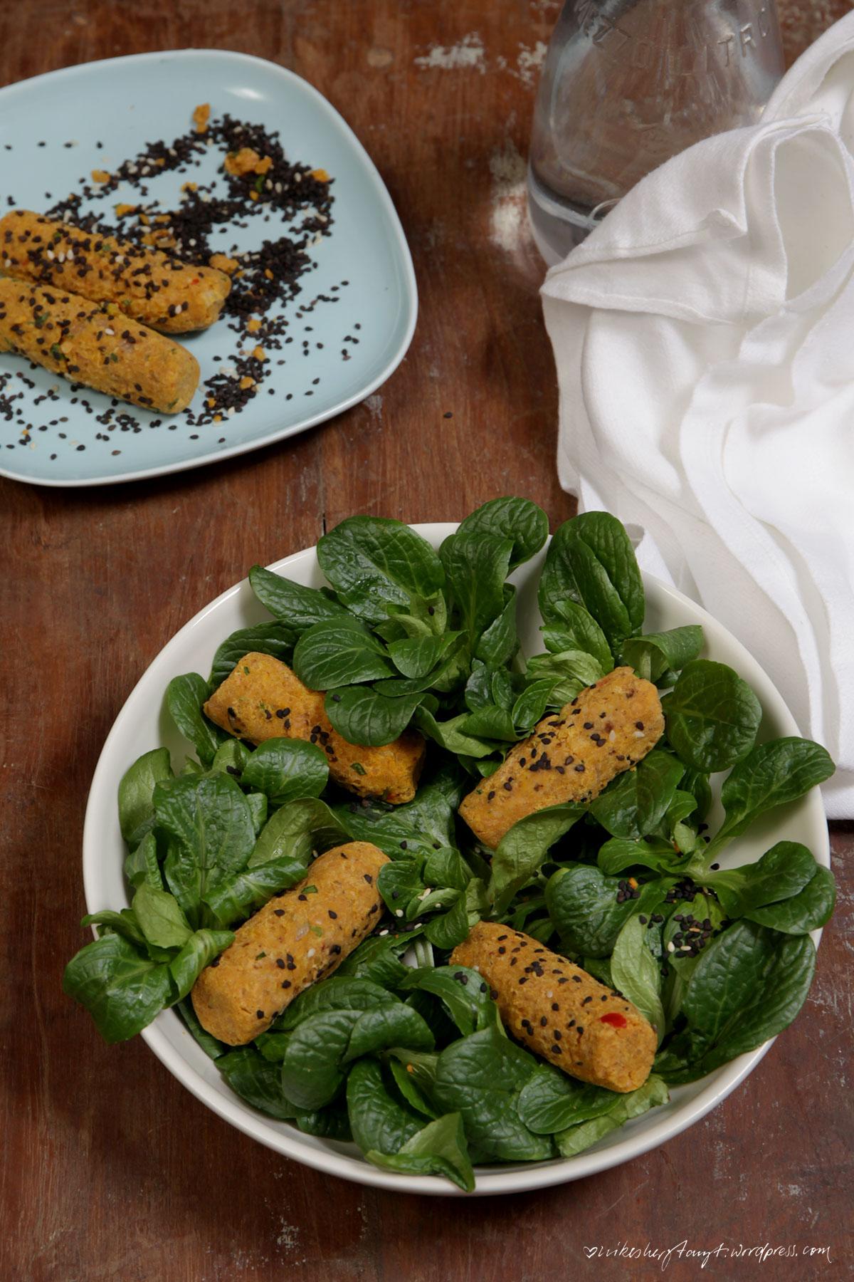 koch dich türkisch, mercimek köftesi, feldsalat, linsen frikadellen, vegan, nikesherztanzt,